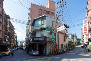 台湾 瑞芳 逢甲路の写真素材 [FYI02665163]