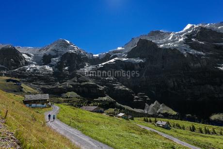 スイスアルプス、トップオブヨーロッパの写真素材 [FYI02665240]