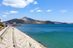 坂手島から望む菅島の写真素材 [FYI02665602]