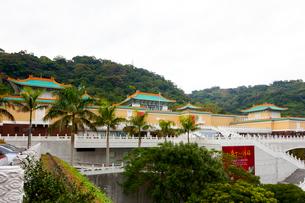 台湾 国立故宮博物院 三層のテラスの写真素材 [FYI02665644]
