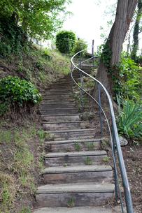 オーヴェル・シュル・オワーズ オーヴェールの階段の写真素材 [FYI02665655]