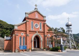 上五島の青砂ヶ浦天主堂の写真素材 [FYI02665683]
