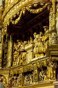 キリストの神殿奉献を表した礼拝堂の写真素材 [FYI02665699]
