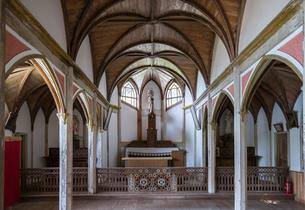 旧五輪教会堂内部風景の写真素材 [FYI02665752]