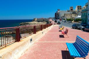 マルタ共和国,シャイラ(Xghajra)の海岸線の写真素材 [FYI02665875]