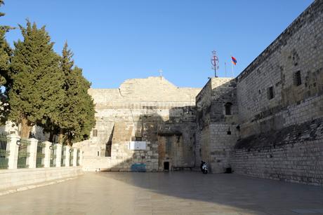 パレスチナ ベツレヘムの聖誕教会の写真素材 [FYI02665893]