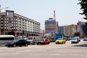 シンガポールの大通り セラングーンロードの写真素材 [FYI02665957]