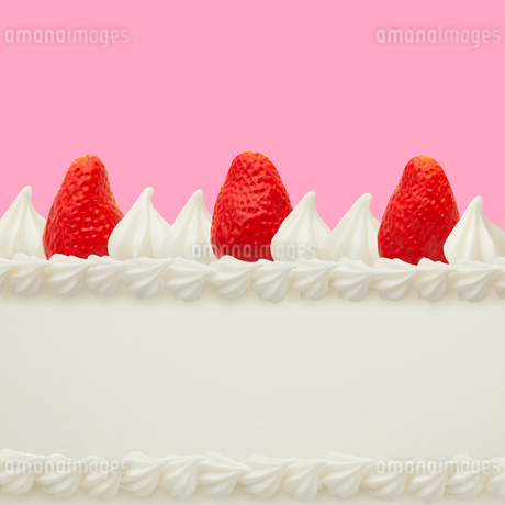 ショートケーキ イメージ スイーツデコの写真素材 [FYI02666036]