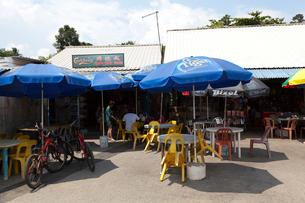 ウビン島の雑貨屋と商店の写真素材 [FYI02666068]
