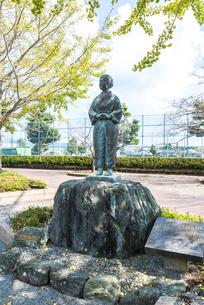 知覧平和公園に建つ母の像の写真素材 [FYI02666163]