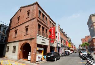 台湾 台北市 迪化街の写真素材 [FYI02666256]