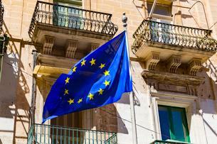 EUの旗,Flag of Europeの写真素材 [FYI02666283]