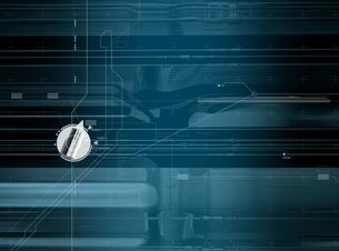 スイッチと線形 CGのイラスト素材 [FYI02666355]