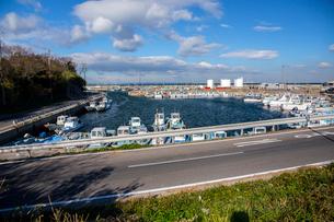日間賀島 久渕港の写真素材 [FYI02666463]