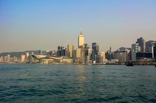 香港島とクーロンエリアの写真素材 [FYI02666492]