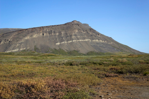 アラスカ 北極圏の山岳地帯の写真素材 [FYI02666547]