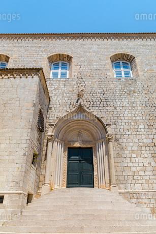 聖セバスチャン教会、緑の門の写真素材 [FYI02666823]
