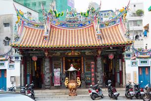 台湾府城隍廟の写真素材 [FYI02666867]