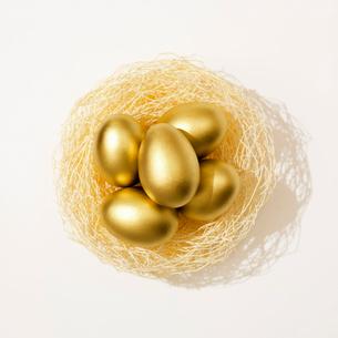 黄金の卵の写真素材 [FYI02666923]