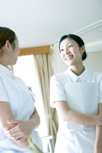 笑顔の看護師の写真素材 [FYI02666938]