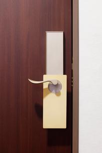 ホテルの扉の写真素材 [FYI02666968]