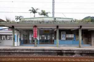 台湾、宜蘭線、牡丹駅の写真素材 [FYI02667128]