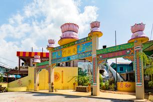 クタム島(カニの島),南天宮菩提門の写真素材 [FYI02667131]
