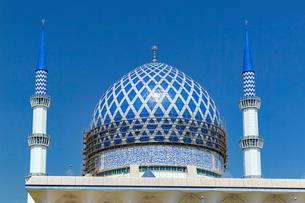 ブルーモスク、青色の巨大ドームの写真素材 [FYI02667175]