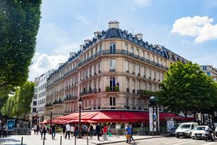 パリ8区 ル・フーケ(Le Fouquet's)の写真素材 [FYI02667209]