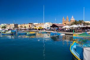 マルサシュロック 地中海のルッツの写真素材 [FYI02667243]