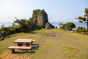 福井,鉾島の広場の写真素材 [FYI02667248]