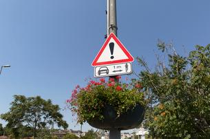 イスタンブールの交通標識の写真素材 [FYI02667263]