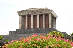 ホーチミン廟の写真素材 [FYI02667270]