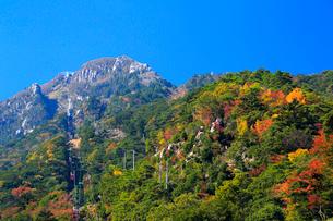 三重県 御在所岳の紅葉の写真素材 [FYI02667372]
