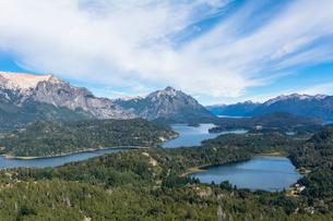 バリローチェのナウエル・ウアピ湖の写真素材 [FYI02667391]