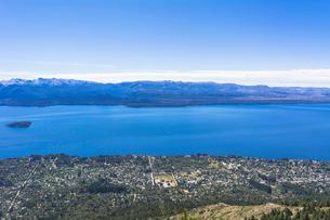 バリローチェのナウエル・ウアピ湖の写真素材 [FYI02667402]