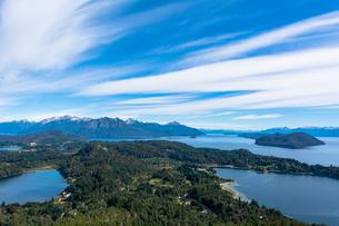 バリローチェのナウエル・ウアピ湖の写真素材 [FYI02667878]