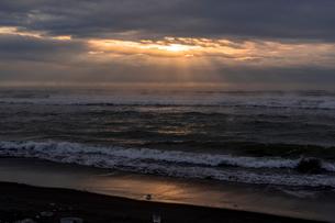 大津海岸の朝の写真素材 [FYI02667956]