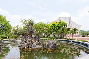 ホーチミン博物館の庭園の写真素材 [FYI02668065]