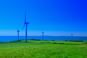 苫前の風力発電の写真素材 [FYI02668144]