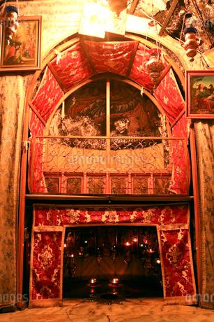 ベツレヘムの聖誕教会 イエス・キリスト生誕の地の写真素材 [FYI02668323]
