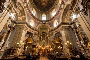 ペーター教会内部の写真素材 [FYI02668389]