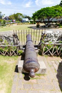 セブ島 サンペドロ要塞の大砲の写真素材 [FYI02668418]