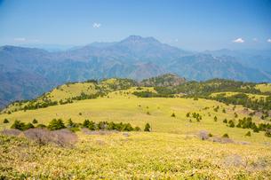 瓶ヶ森と石鎚山の写真素材 [FYI02668487]