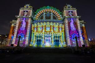 大阪中央公会堂 光のルネサンス ウォールタペストリーの写真素材 [FYI02668496]