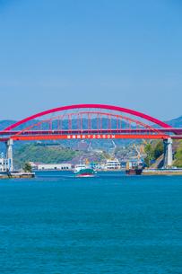 音戸大橋と第二音戸大橋の写真素材 [FYI02668754]