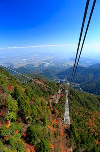 三重県 御在所岳の紅葉の写真素材 [FYI02668797]