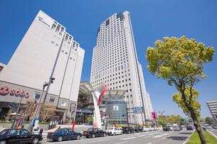 広島市基町の街並みの写真素材 [FYI02668974]