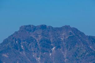 瓶ヶ森と石鎚山の写真素材 [FYI02669163]