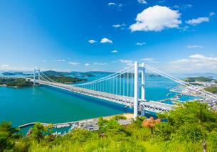 鷲羽山より瀬戸大橋の写真素材 [FYI02669165]
